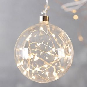 Stargazer starry glass ornament